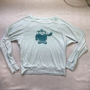 Aritzia official 2010 Olympic green top size Lrg